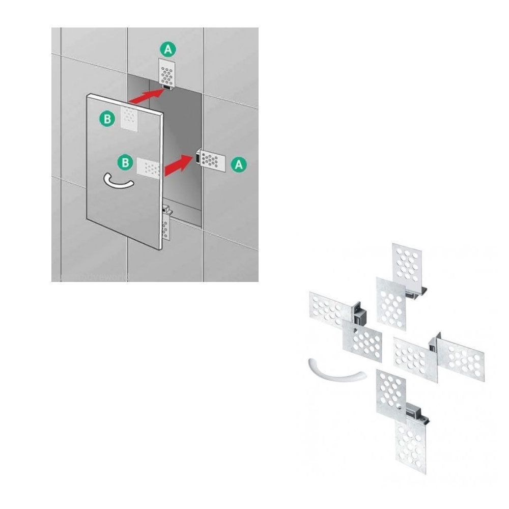Tiled Magnetic Access Panel Control Hatch Inspection